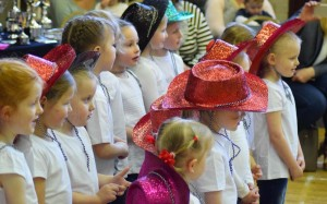 Group Singers With Hats